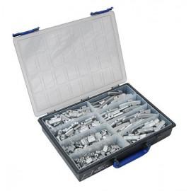 Assortiment TRAX zink stalen velg 270 stuks in doos (1 stuks)