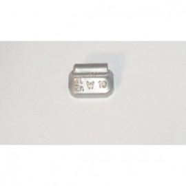 Wielgewicht zink 10 gram Eco 161, 100 stuks