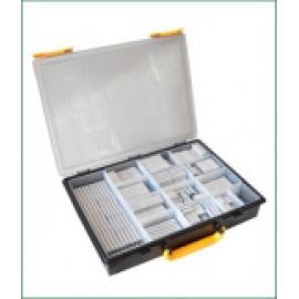 Assortiment Trax 326C lichtmetaal, 270 stuks